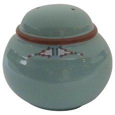 Vintage Noritake Stoneware Boulder Ridge Pepper Shaker Native American Southwest Motif