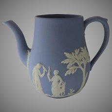 Vintage Wedgwood Jasperware Neo Classical Coffee Pot No Lid