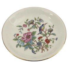 Vintage Aynsley England Pembroke Small Dish Plate Gilt Edge