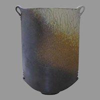 Vintage Large Pottery Vase Sculpture by Adam Field Montana