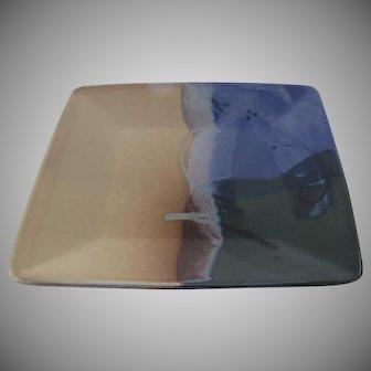 Ojo Sarco Southwestern Pottery Tray Serving Dish Platter