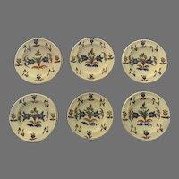 Charming Small Talavera Plates Set of 6