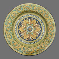"""Very Large 17"""" Wall Plate Charger Tray  Made in Italy for Cottura"""