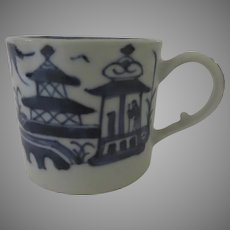 19th Century Chinese Blue and White Landscape Cup
