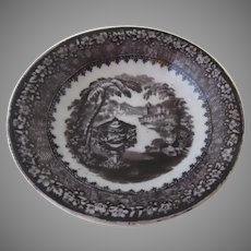 Small Dish by Podmore, Walker & Company (PW & Co.) Pattern Washington Vase