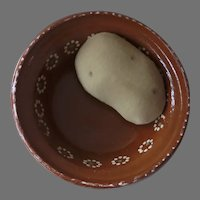 Mexican Pottery Bowl Rustic Country Kitchen