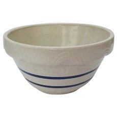 """Vintage Roseville Large Huge 14"""" Mixing Bowl"""