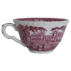 Vintage Mason's Red Vista Large Cup England