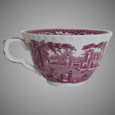 Vintage Mason's Red Vista Large Cup England
