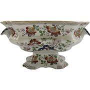 19th Century Mason Ironstone Footed Compote