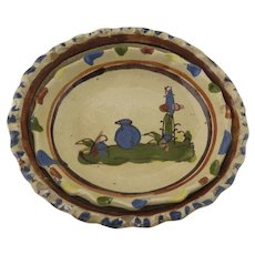 Vintage Mexican Pottery Oval Bowls