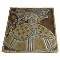 Vintage Rookwood Tile Trivet
