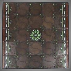 Tiles designed Jac. Van Den Bosch and Theo Nieuwenhuis for de Distel