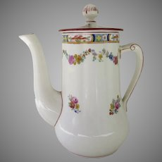 Early 1900's Minton Rose Hot Water Jug Coffee Pot Tea Pot