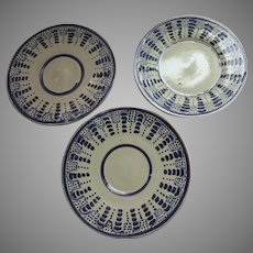 Group of Vintage Older Mexican Small Plates Guanajuato
