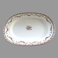 Large Minton Vintage Rose Platter #4897