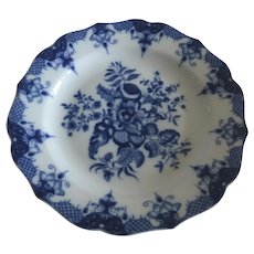 Vintage Mottahedeh Plate Blue and White Worcester