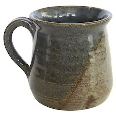 Signed Dated Handmade Pottery Mug by Claire