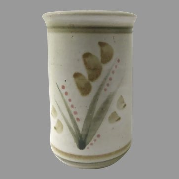 Vintage Whynot Pottery North Carolina 1988 Utensil Pot Planter