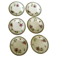 Set of Six (6) Copeland T. Goode England Chinese Blossom Dinner Plates 10 1/4""