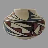 Vintage Native American Pot Vessel by Norma Jean Ortiz