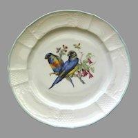 Vintage Forstenberg Furstenberg West German Porcelain Plate
