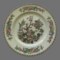 """Alfred Meakin Vintage The India Tree Dinner Plate Hand Painted 10"""""""