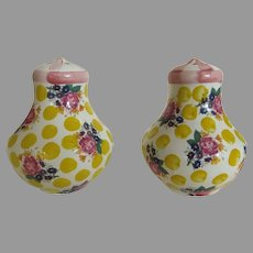 Vintage Mackenzie-Childs Salt and Pepper Shakers from Buttercup Collection