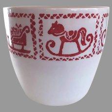 Charming Vintage Scheurich West Germany Christmas Planter Pot Vase
