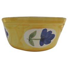 Vintage Discontinued Dansk St. Tropez Pattern Portugal Souffle Baking Bowl