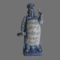 Vintage Schafer Vater Small Decanter Flask
