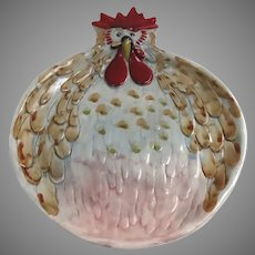 Vintage Jacques Pepin Chicken Plate Sur la Table Italy