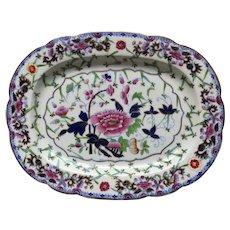 Porcelain by Grainger's, Worcester, England 1814-1839 Platter