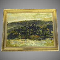 Large Oil on Canvas by Michel JOUENNE (1933) France A.1567