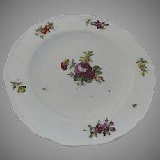18th Century Shallow Bowl Austria 1780