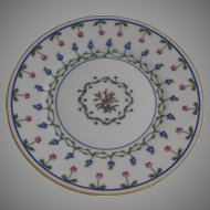 "Vintage 1960's 6 x Raynaud Ceralene Limoges France Porcelain Bread and Butter Plates 6.5"" ""Lafayette"""