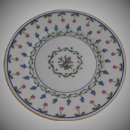 "Vintage 1960's 6 x Raynaud Ceralene Limoges France Porcelain Bread and Butter Plates 6.5"" ""Lafayette"""