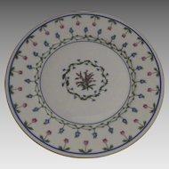 """Vintage 1960's 3 x Raynaud Ceralene Limoges France Porcelain Dessert Plates """"Lafayette"""""""