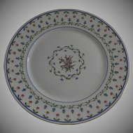 """Vintage 1960's 4 x Raynaud Ceralene Limoges France Porcelain Dinner Plates """"Lafayette"""""""