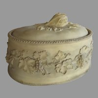 19th Century Wedgwood Game Pie Tureen Caneware