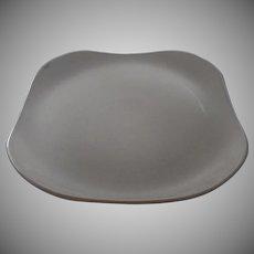 Vintage Russel Wright Stuebenville Granite Gray Large Square Platter