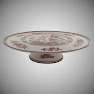 Vintage Spode India Indian Tree Rust Large Cake Plate Platter
