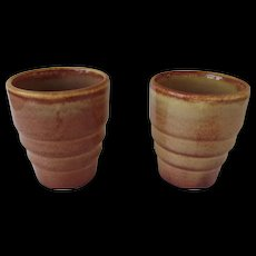 Vintage Gladding McBean/Franciscan Pottery Tumblers