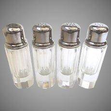 Vintage Salts Silverplate Set of 4