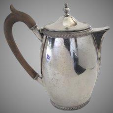 Old Sheffield Plate Pitcher Coffee Tea Pot