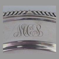 Gorham Silver Plate Round Tray