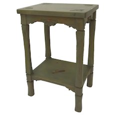 Charlie Esquibel, Chimayo Hand Carved Spanish Colonial Side Table