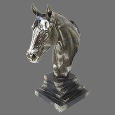 Horse Sculpture by Plata Artistica Mexico .999 Silver