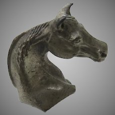 Vintage 60's 70's Ampersand Horse Head Paperweight