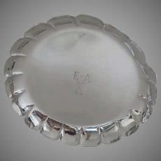 Vintage Sterling Bowl Tuttle Silversmiths Copy of Paul de Lamerie c 1950's